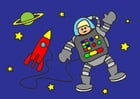 immagine l'astronauta