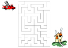 immagine labirinto - pompiere