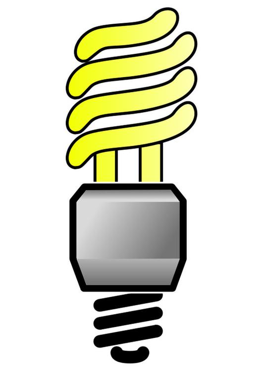 lampadina basso consumo : Immagine ? illustrazione lampadina a basso consumo Immagini per ...