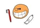 immagine lavarsi i denti
