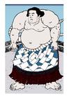 immagine lottatore di sumo