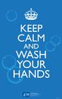 immagine mantieni la calma e lavati le mani
