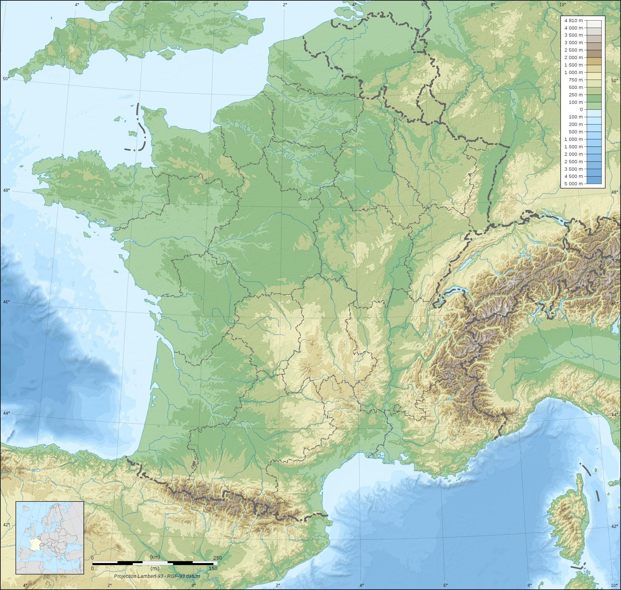 Foto Della Cartina Della Francia.Immagine Mappa Della Francia Disegni Da Stampare Gratis