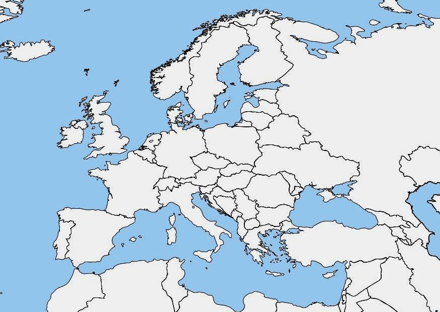 Cartina Dell Europa Da Colorare Pieterduisenberg