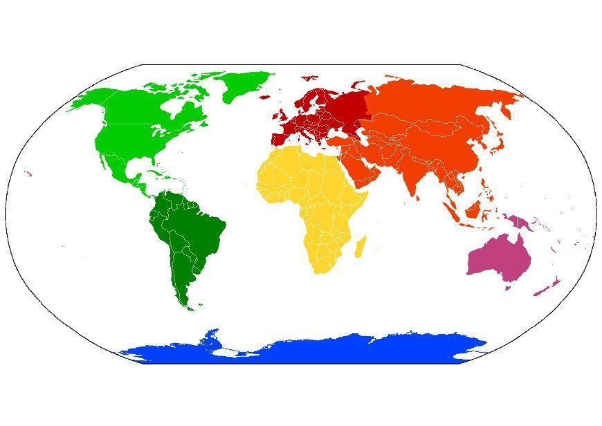 Immagine Illustrazione Mappamondo Continenti Immagini Per Uso