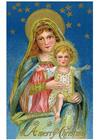 immagine Maria con Gesù