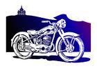 immagine motociclo