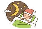 immagine notte - sonno