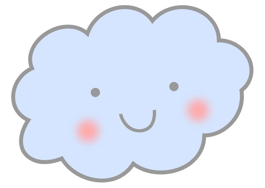 Immagine Illustrazione Nuvola Immagini Per Uso