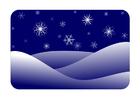 immagine paesaggio invernale
