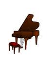 immagine pianoforte a coda