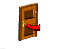 immagine porta chiusa - risparmio energetico
