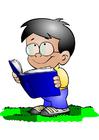 immagine ragazzo con libro