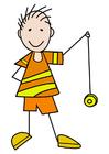 immagine ragazzo con yo-yo
