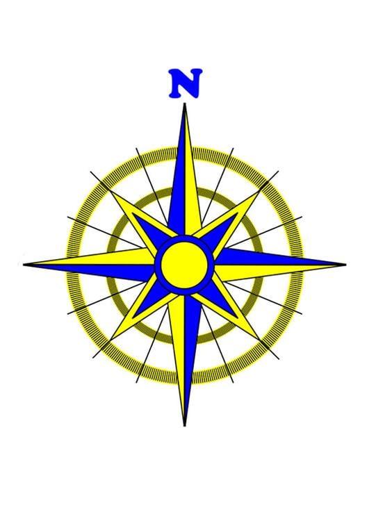 Immagine illustrazione rosa dei venti immagini per uso for Atlante compass