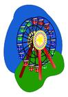 immagine ruota panoramica