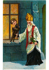 immagine San Nicola con gioccattoli