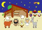 immagine scena della Natività