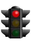 immagine semaforo rosso