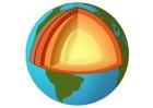 immagine sezione della Terra