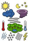immagine simboli meteorologici