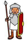 immagine soldato romano
