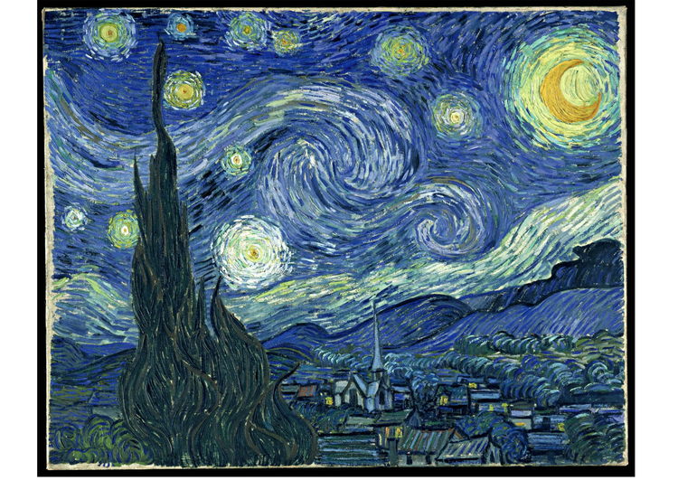 immagine Starry Night - Vincent Van Gogh