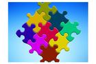 immagine tessere di puzzle