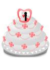 immagine torta di matrimonio