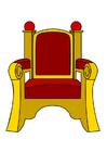 immagine trono di Babbo Natale