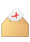immagine votare - no